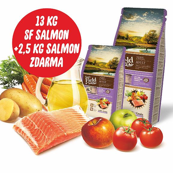 akce: 2,5kg SF Salmon k13kg pytli zdarma