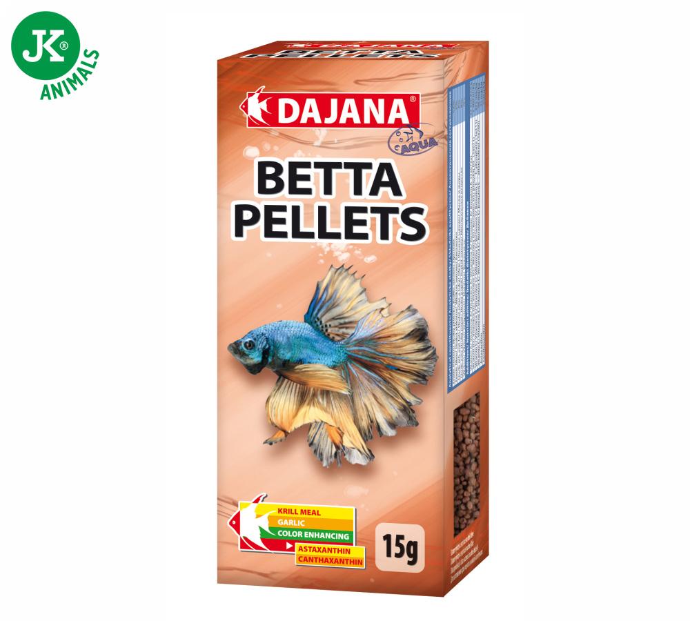 Dajana Betta Pellets 15g | © copyright jk animals, všechna práva vyhrazena