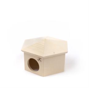 Dřevěný domek JURTA pro křečky
