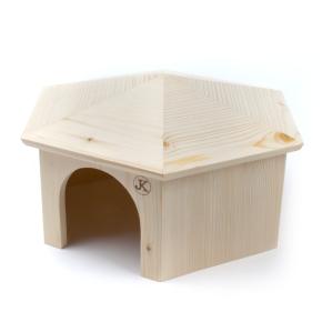 Dřevěný domek JURTA pro králíky