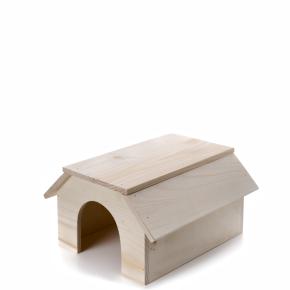 Dřevěný domek pro králíky