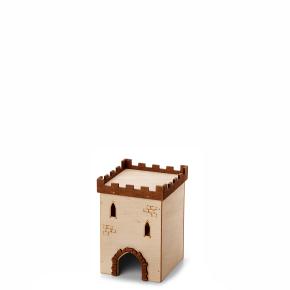 Hrad č.1, dřevěný domek pro křečky