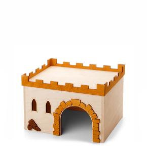 Hrad č.3, dřevěný domek pro morčata