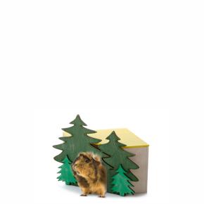 JK domek Les rohový č. 2, pro morčata