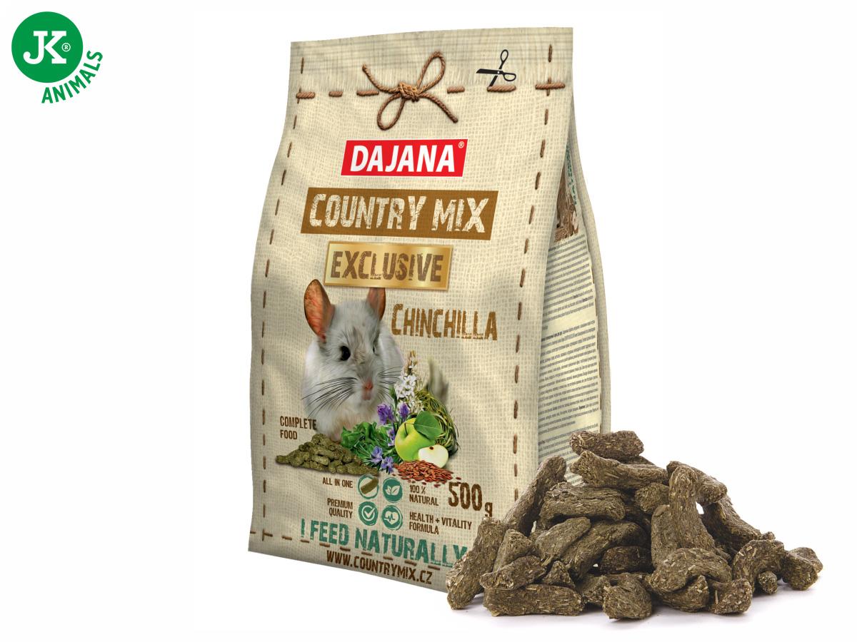Dajana – COUNTRY MIX EXCLUSIVE, Chinchilla (činčila) 500g | © copyright jk animals, všechna práva vyhrazena
