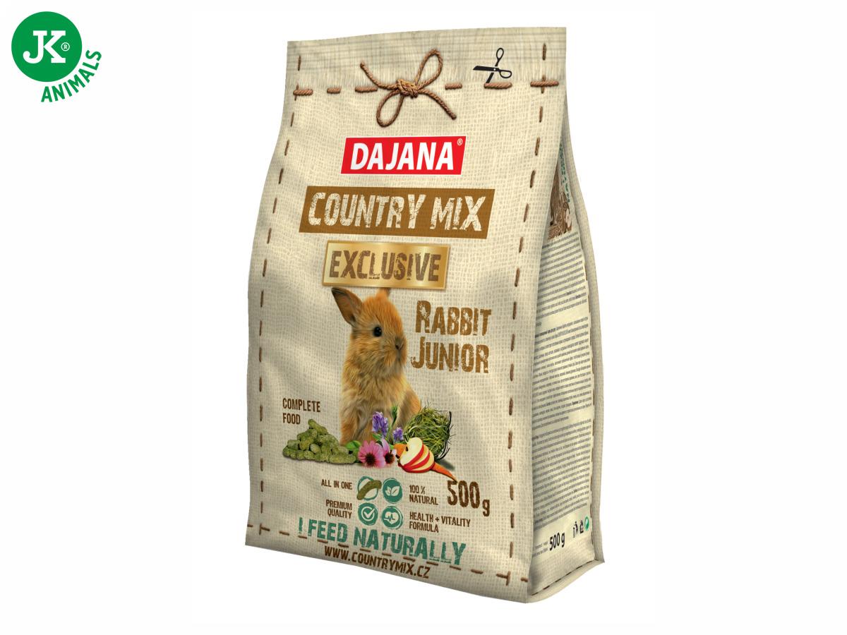 Dajana – COUNTRY MIX EXCLUSIVE, Rabbit Junior (králík) 500g | © copyright jk animals, všechna práva vyhrazena