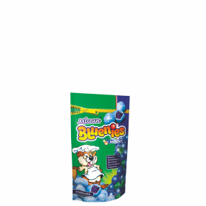 Bluenies - borůvka, pamlsek pro hlodavce