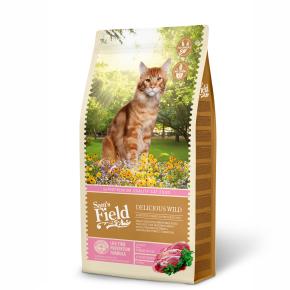 Sams Field Cat Delicious Wild, superprémiové granule sdivočinou 7,5kg (Sam's Field)