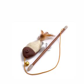 Ryba na prutě s catnipem (šantou), hračka