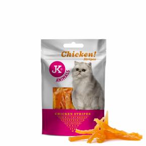 Meat Snack Cat Chicken Strips, masový pamlsek