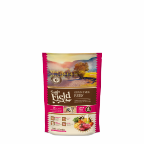 Sams Field Grain Free Beef (Angus), superprémiové granule 800g (Sam's Field)