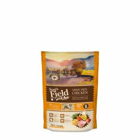 Sams Field Grain Free Chicken, superprémiové granule 800g (Sam's Field)