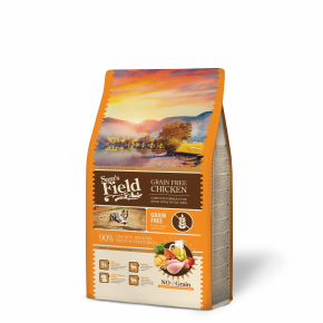 Sams Field Grain Free Chicken, superprémiové granule 2,5kg (Sam's Field)