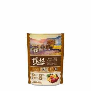 Sams Field Grain Free Venison, superprémiové granule 800g (Sam's Field)