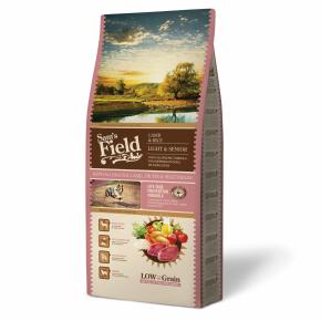 Sams Field Light & Senior Lamb & Rice, superprémiové granule 13kg (Sam's Field)