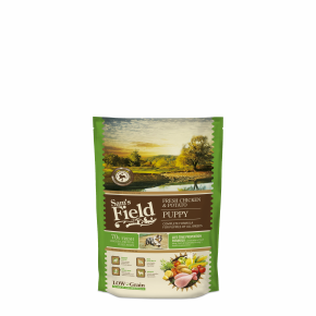 Sams Field Puppy Chicken & Potato, superprémiové granule 800 g (Sam's Field)