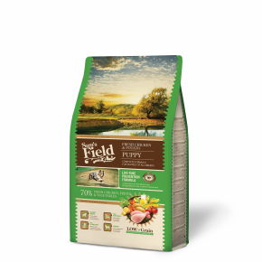 Sams Field Puppy Chicken & Potato, superprémiové granule 2,5 kg (Sam's Field)