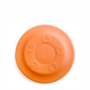 Frisbee oranžové 17 cm, odolná hračka zEVA pěny