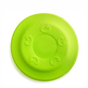 Frisbee zelené 22 cm, odolná hračka zEVA pěny