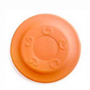 Frisbee oranžové 22 cm, odolná hračka zEVA pěny