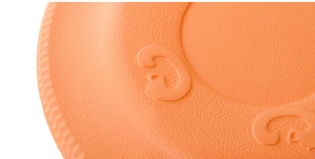 Frisbee oranžové 22 cm, odolná hračka z EVA peny