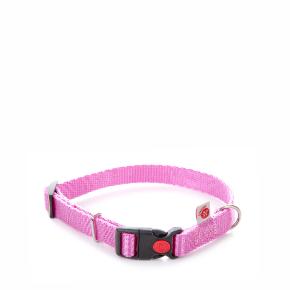 Nylonový obojek JK Classic růžový