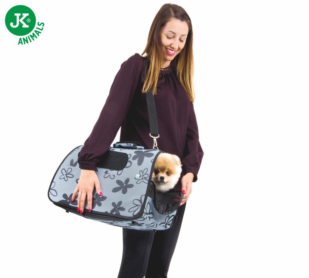 JK ANIMALS Cestovní taška Flower M   © copyright jk animals, všechna práva vyhrazena