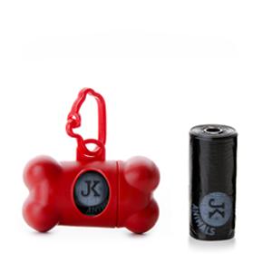 Plastový zásobník na sáčky pro psí exkrementy