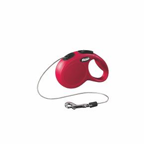flexi New Classic Cord (lanko), velikost XS, červená
