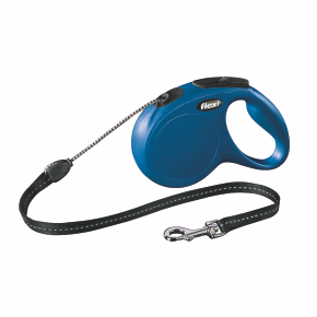 flexi New Classic Cord (lanko), velikost M, modrá