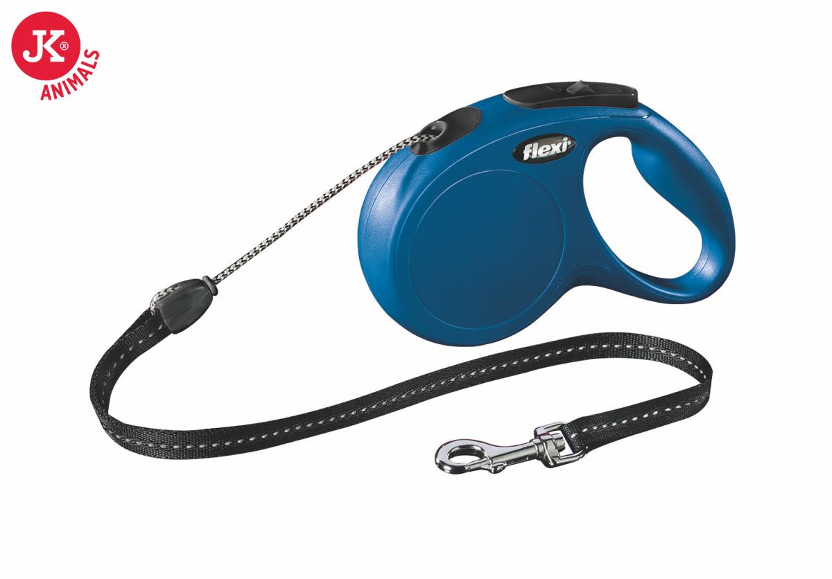 flexi new classic cord medium modrá   © copyright jk animals, všechna práva vyhrazena
