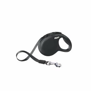 flexi New Classic Tape (pásek), velikost XS, černá
