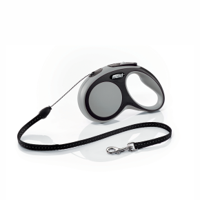 flexi New Comfort Cord (lanko), velikost S, šedá