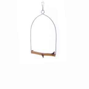 JK houpačka Bříza S, dřevěná hračka pro ptáky