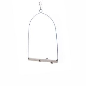 JK houpačka Bříza M, dřevěná hračka pro ptáky