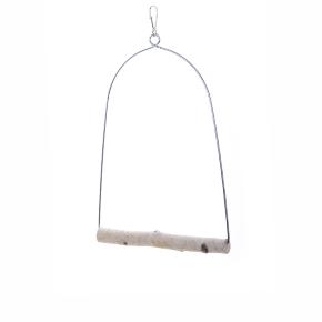 JK houpačka Bříza L, dřevěná hračka pro ptáky