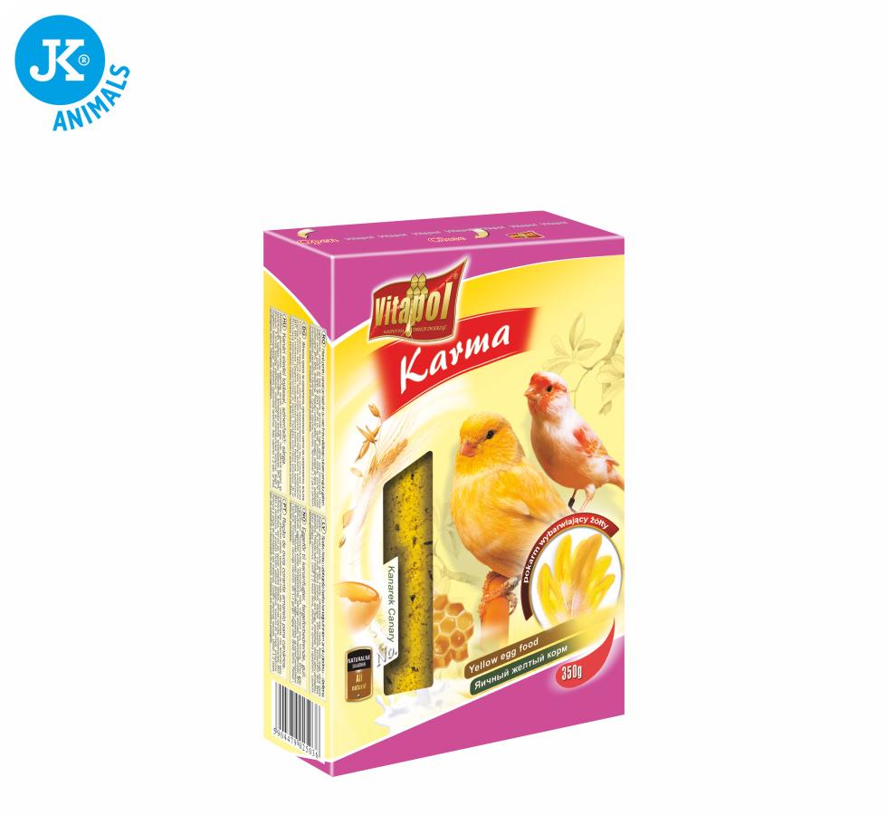 Vitapol - vybarvující žlutý kanár, 350g   © copyright jk animals, všechna práva vyhrazena
