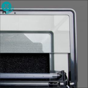 JK ANIMALS skleněný akvarijní komplet JK-A600–skrytá filtrační jednotka a oblé přední rohy | © copyright jk animals, všechna práva vyhrazena