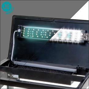 JK ANIMALS skleněný akvarijní komplet JK-A600–výkonné LED osvětlení (noc/den) | © copyright jk animals, všechna práva vyhrazena