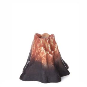 Sopka, keramická akvarijní dekorace