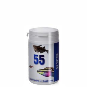 SAK 55, 300ml, vel.2, pro rybky: 5–7cm, krmivo (granule) pro ryby