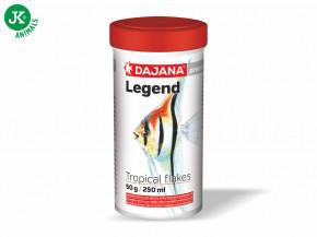 Dajana Legend Premium – Tropical flakes, 1000ml   © copyright jk animals, všechna práva vyhrazena