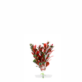 Red Ludwigia mini, akvarijní plastová rostlinka