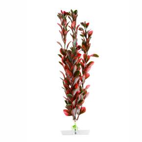 Red Ludwigia střední, akvarijní plastová rostlinka