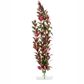 Red Ludwigia velká, akvarijní plastová rostlinka