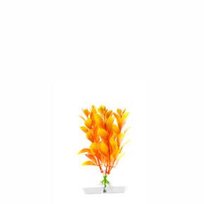 Orange Ludwigia mini, akvarijní plastová rostlinka