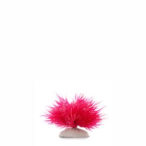 Tráva mini červená, akvarijní plastová rostlinka