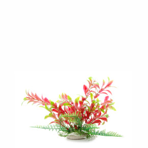 Ludwigia červenozelená, akvarijní plastová rostlinka