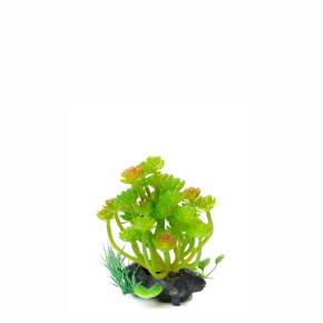 Kámen střední, akvarijní plastová rostlinka