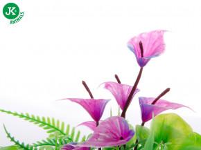 JK ANIMALS Mix květů, akvarijní plastová rostlinka 14 cm | © copyright jk animals, všechna práva vyhrazena